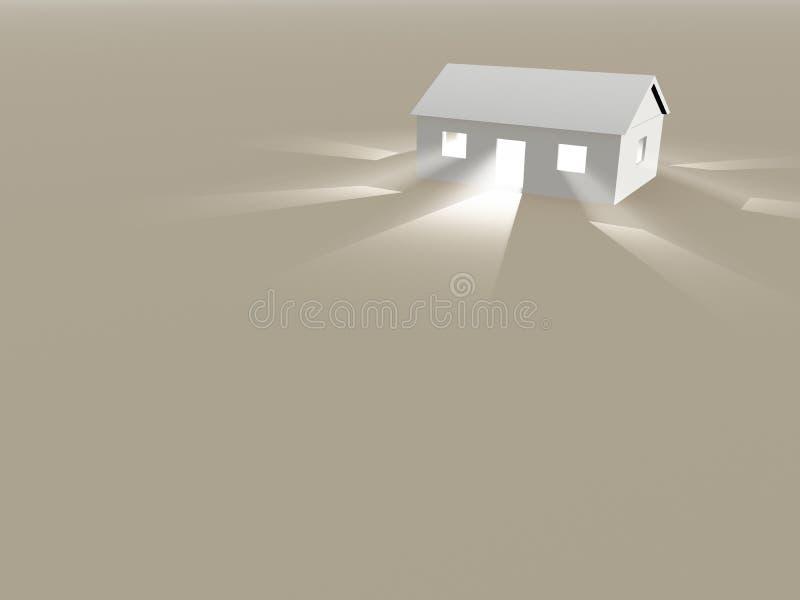 huslampa arkivbild