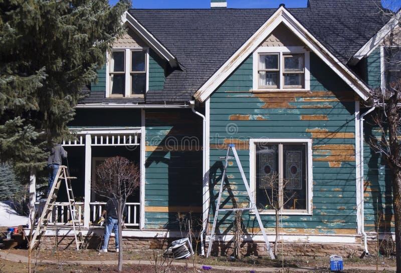 husmålning arkivfoton