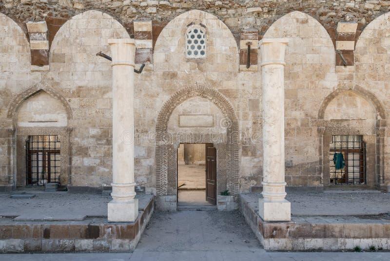 Husrev Pas meczet od starego miasta Van zdjęcia royalty free