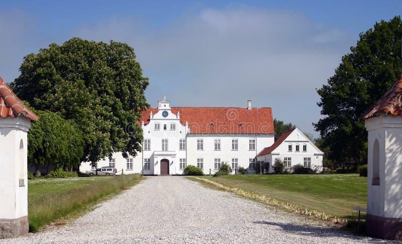 hussäteriherrgård royaltyfri foto