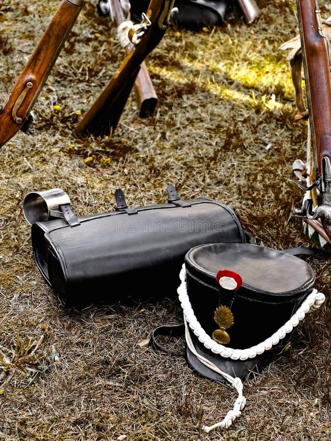 hussar боеприпасыа стоковые изображения