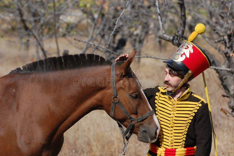 hussar стоковое изображение