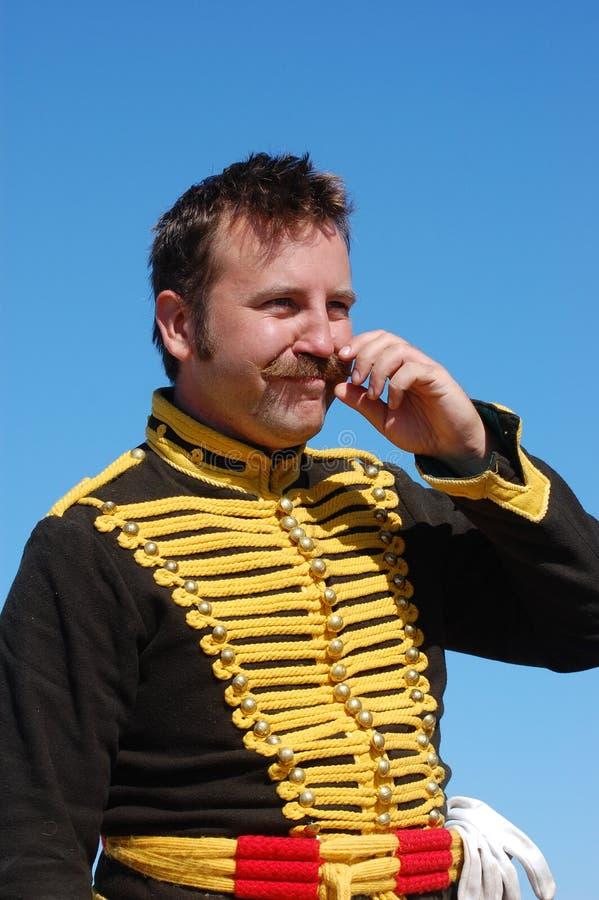 hussar стоковая фотография