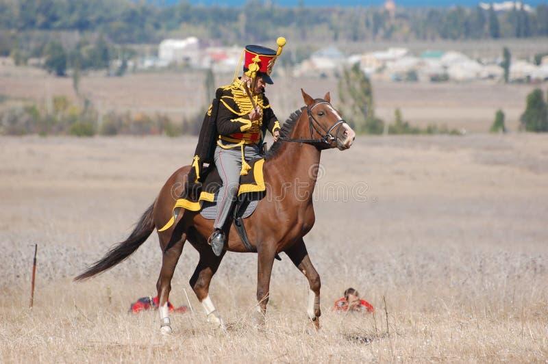 hussar стоковая фотография rf