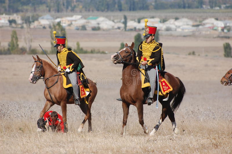 hussar стоковое фото