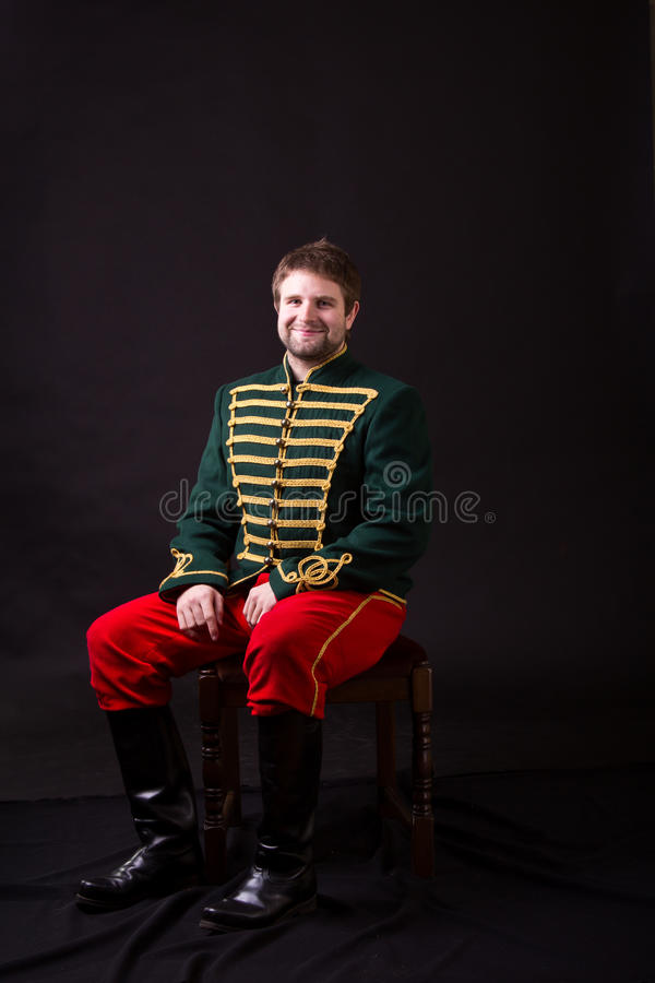 Hussar húngaro imagem de stock
