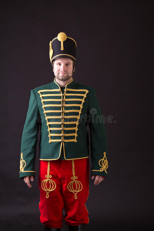 Hussardo húngaro foto de stock royalty free