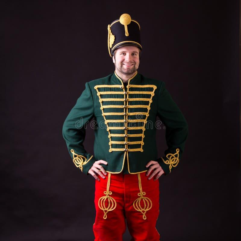 Hussardo húngaro fotografia de stock royalty free