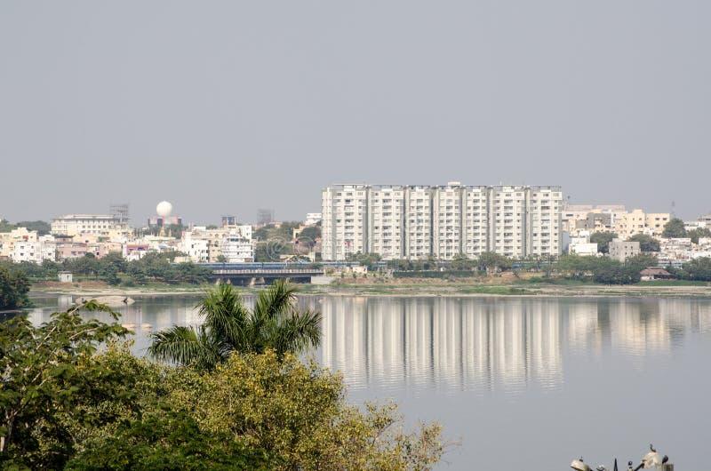 Download Hussein Sagar Lake, Hyderabad Stock Image - Image: 29398187