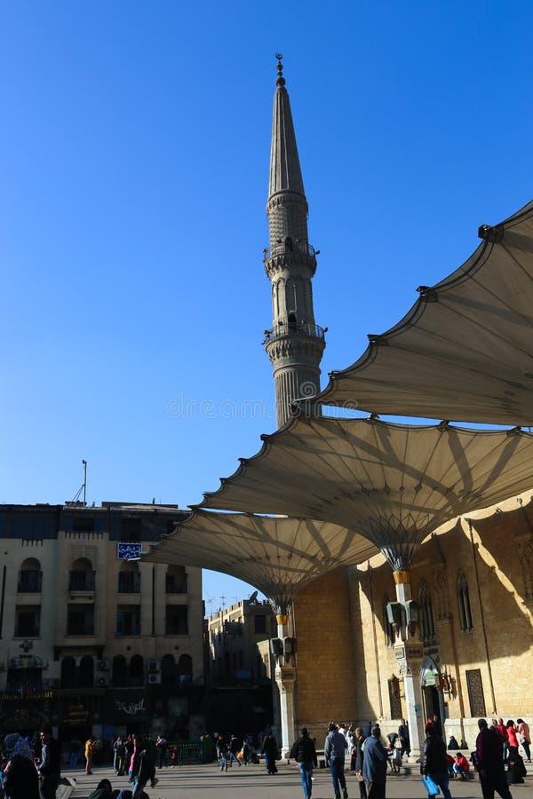 Hussin gammal Kairo fotografering för bildbyråer