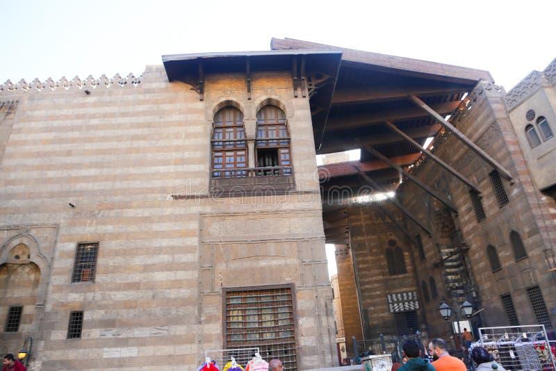 Hussin gammal Kairo royaltyfri bild