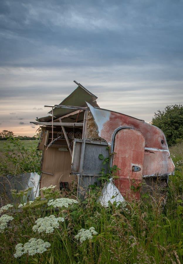 husvagn fotografering för bildbyråer