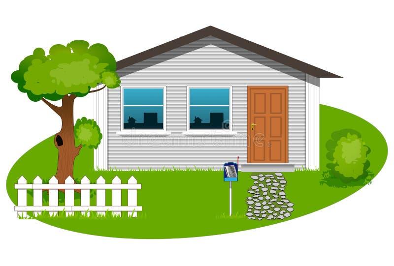 Husvektor vektor illustrationer