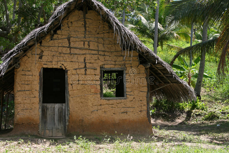 The hut stock photos