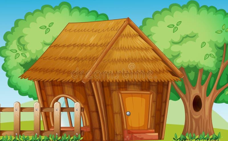 Hut stock illustratie