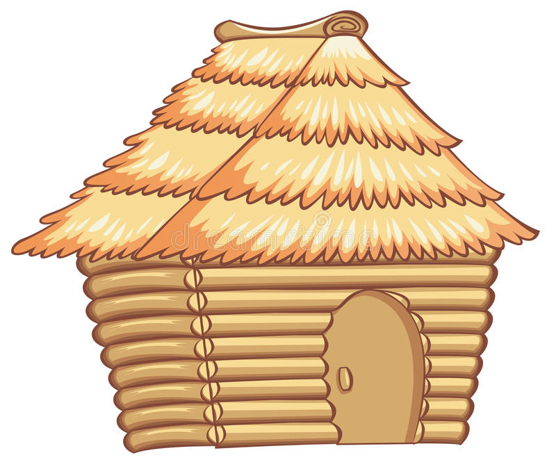 Hut vector illustratie