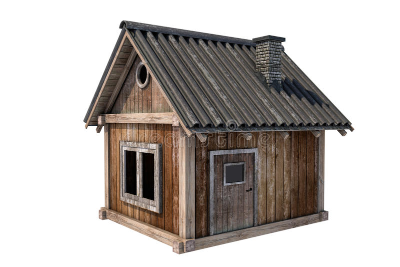 Hut stock afbeelding