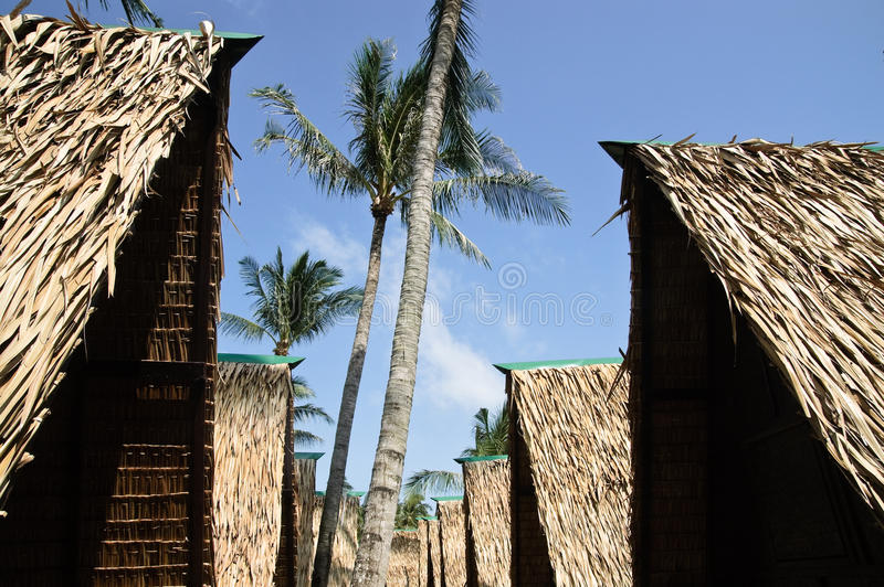 Download Hut on the beach stock image. Image of idyllic, thatched - 11992371