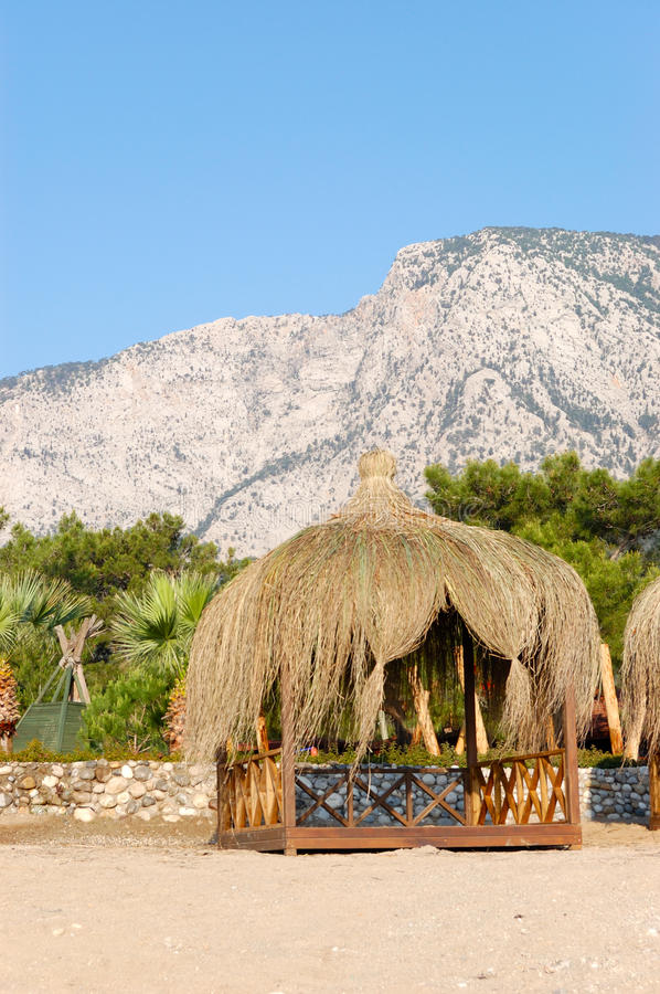 Download Hut On The Beach Royalty Free Stock Image - Image: 13119106