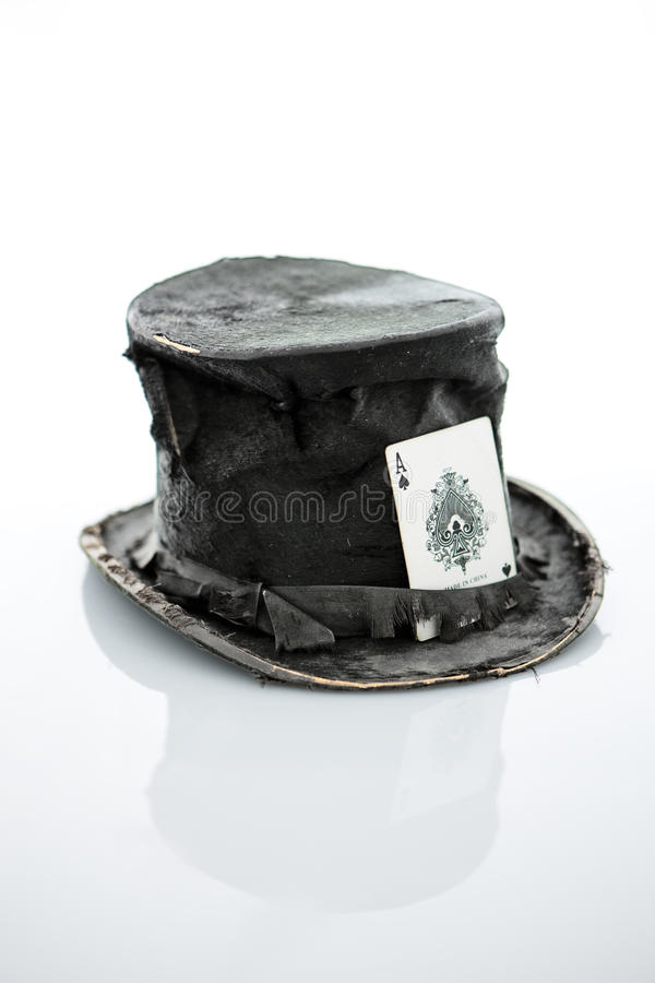 Hut des Magiers. stockbilder