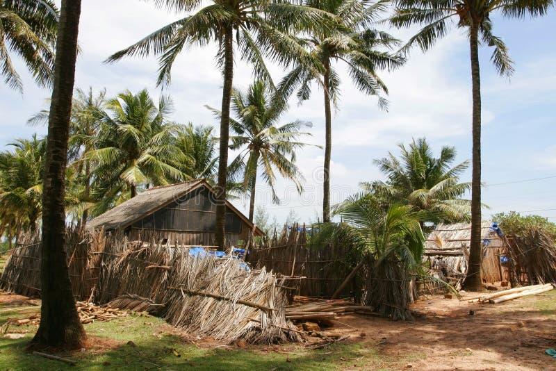 Hut in a jungle