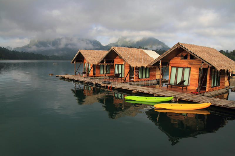 The Hut in Lake Khao Sok national park.