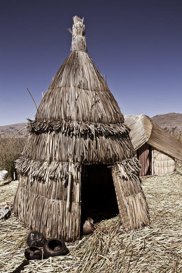 Free Hut Lake Titicaca Stock Photo - 13522280