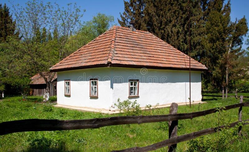 Download Hut in meadow stock image. Image of past, door, rural - 24908869