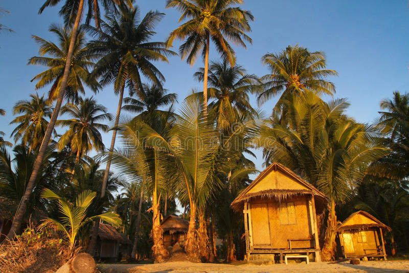 Huts Royalty Free Stock Images