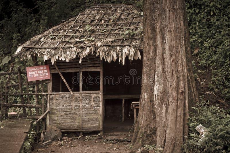 Hutte de Nipa photos libres de droits