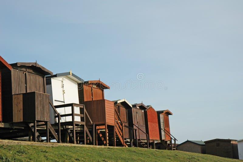 Download Huttes 1 de plage photo stock. Image du huttes, rupture - 57968