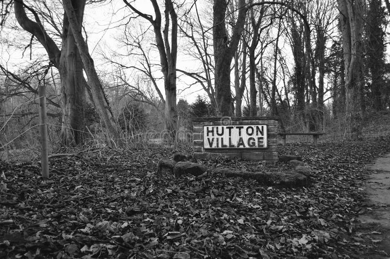 Hutton Village images stock