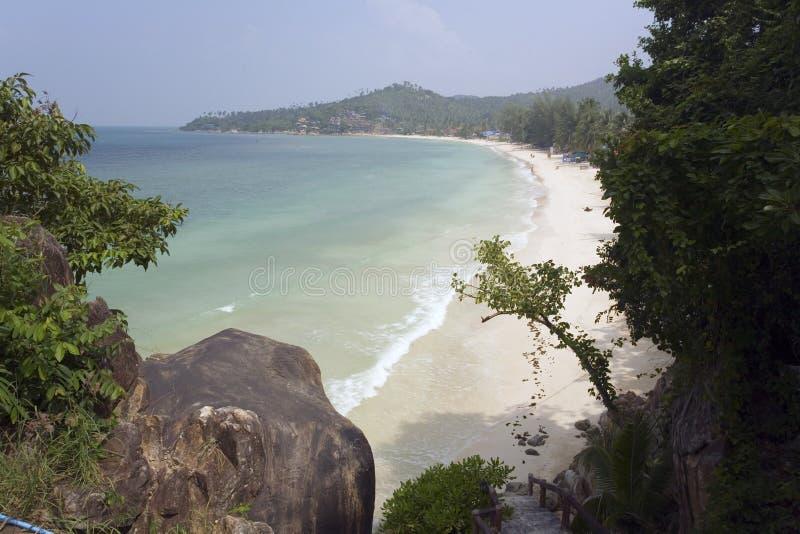 Hutyao-Strand KH Pha Nang Thailand. lizenzfreie stockbilder