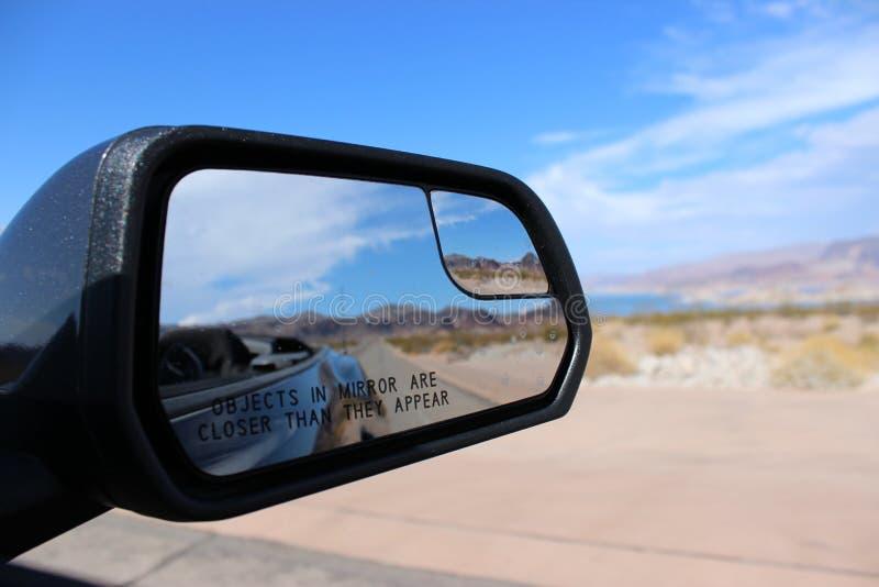 Huurauto bij Meerweide, Nevada royalty-vrije stock fotografie