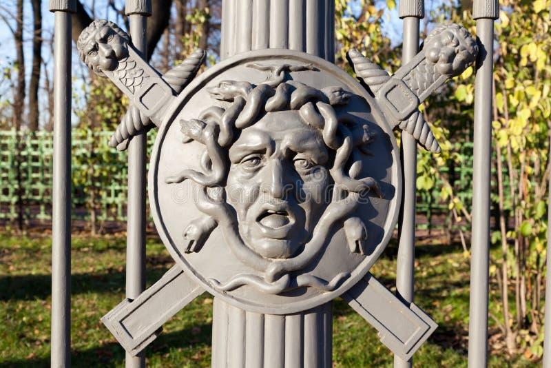 Huvud av medusaen Gorgon royaltyfria bilder