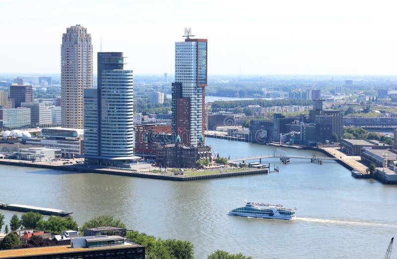Huvud av söder i Rotterdam, Nederländerna arkivfoto