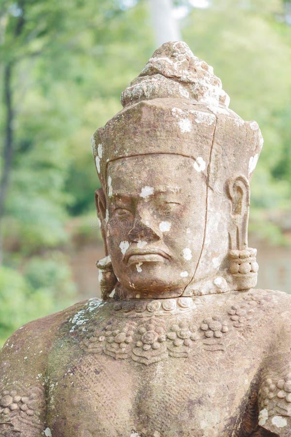 Huvud av statyer royaltyfria foton