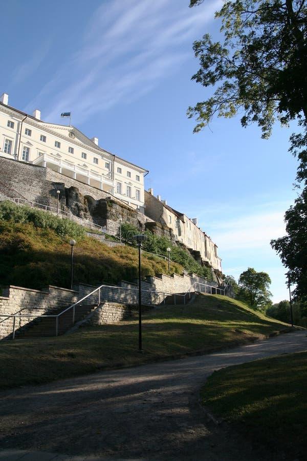 Download Huvudestonia tallinn arkivfoto. Bild av stad, torn, vägg - 985900