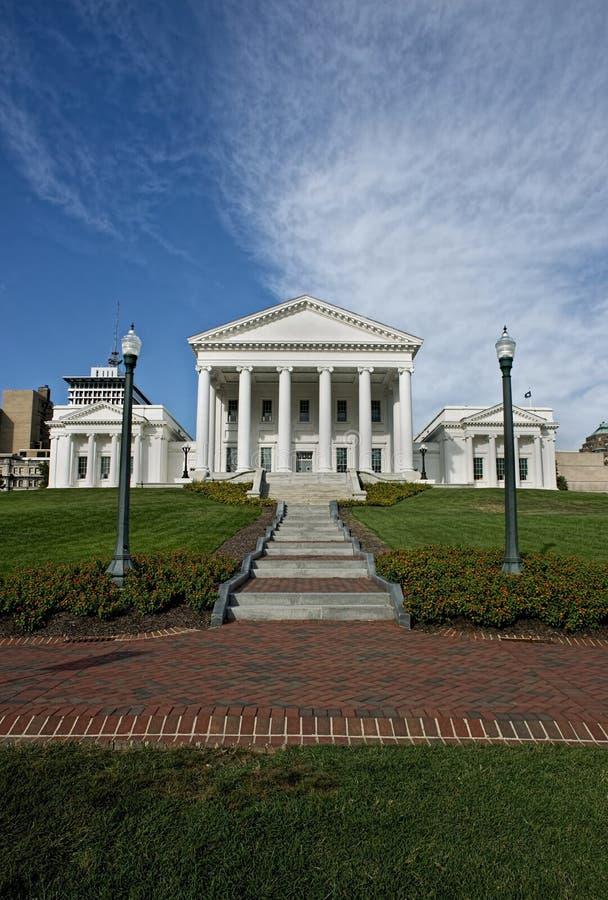 Huvudstad av Virginia arkivbilder