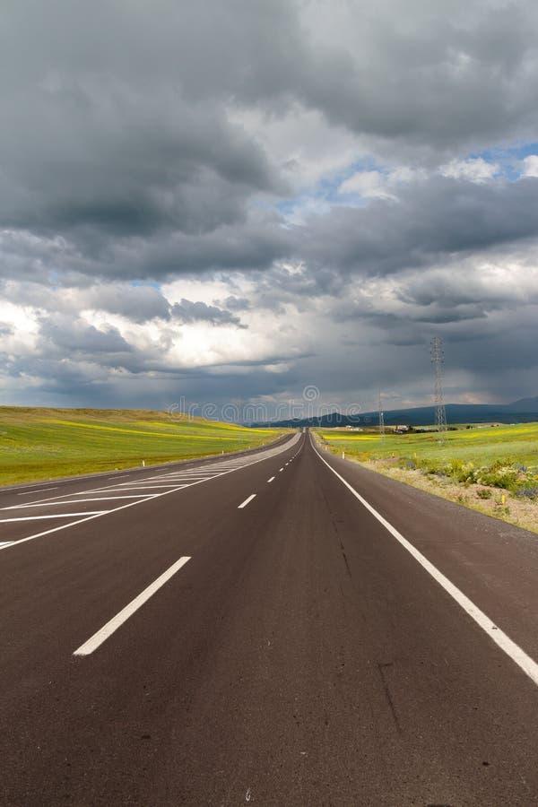 huvudväg royaltyfri fotografi
