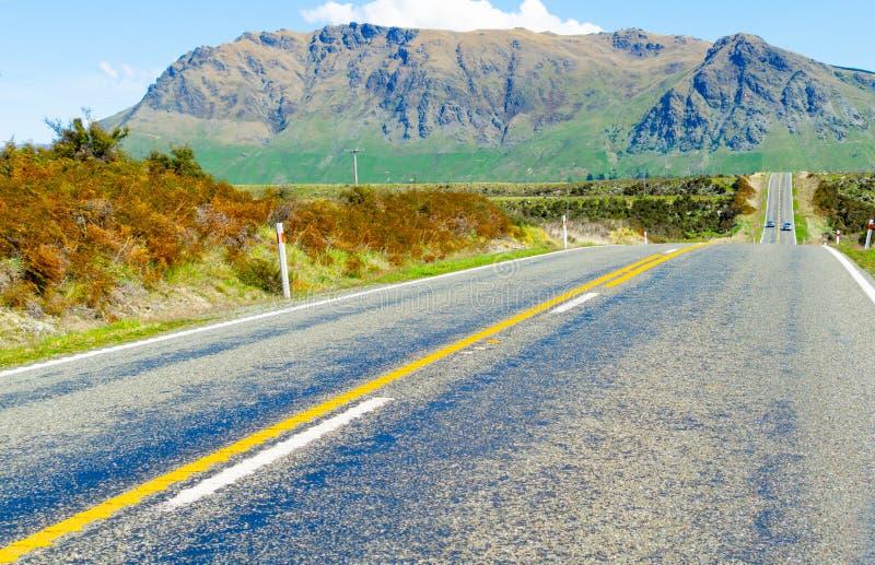 Huvudväg för södra ö arkivbild