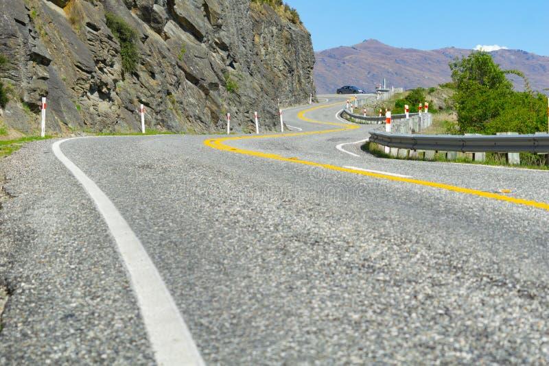 Huvudväg för södra ö royaltyfri fotografi