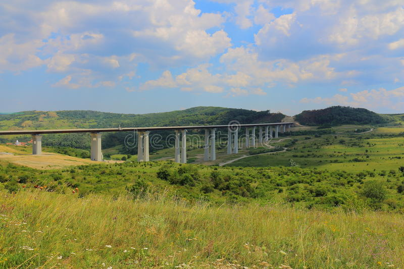 Huvudvägbro fotografering för bildbyråer