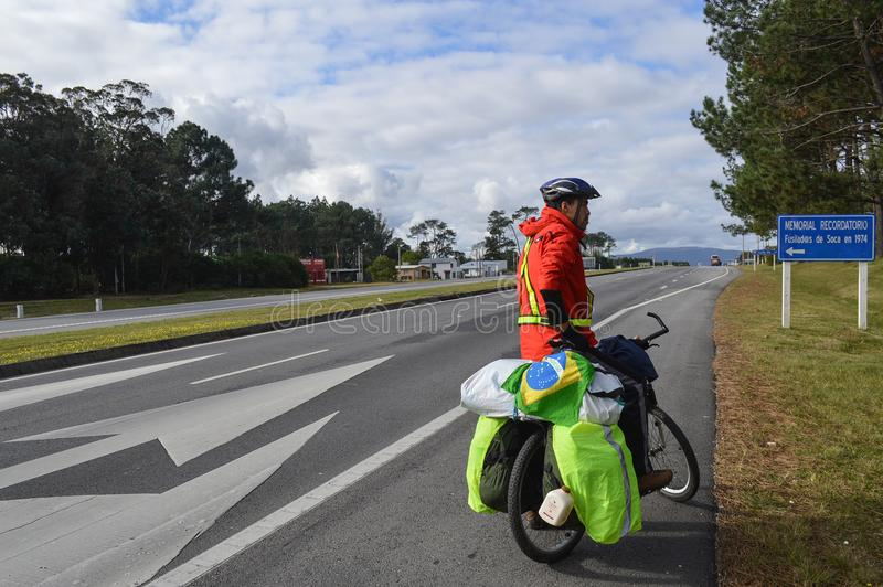 Huvudväginterbalnearia, Uruguay, fem juni tvåtusen och sixt royaltyfri foto