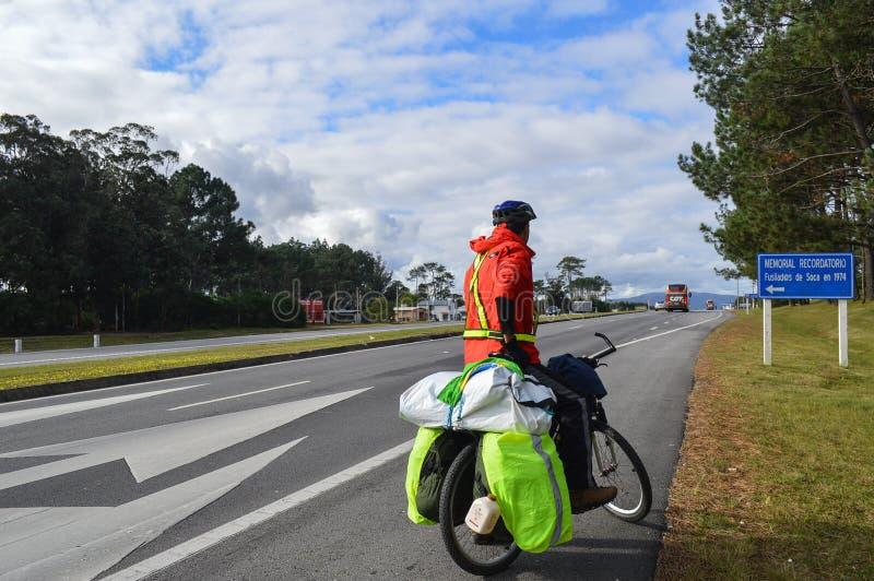 Huvudväginterbalnearia, Uruguay, fem juni tvåtusen och sixt royaltyfria foton