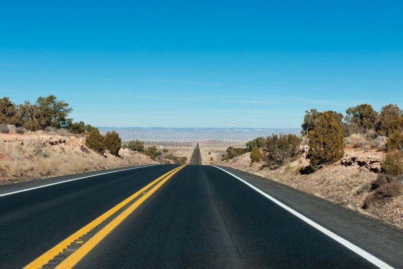 huvudvägväg arkivbild