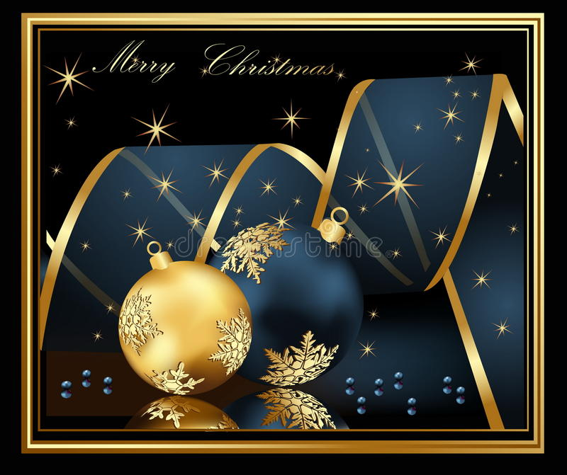 Huw de achtergrond van Kerstmis stock illustratie