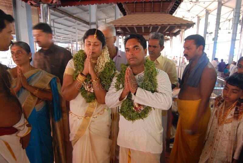 Huwelijk - Kerala royalty-vrije stock foto's