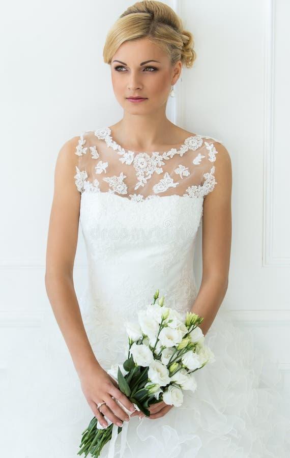 Huwelijk Mooie Bruid royalty-vrije stock afbeeldingen