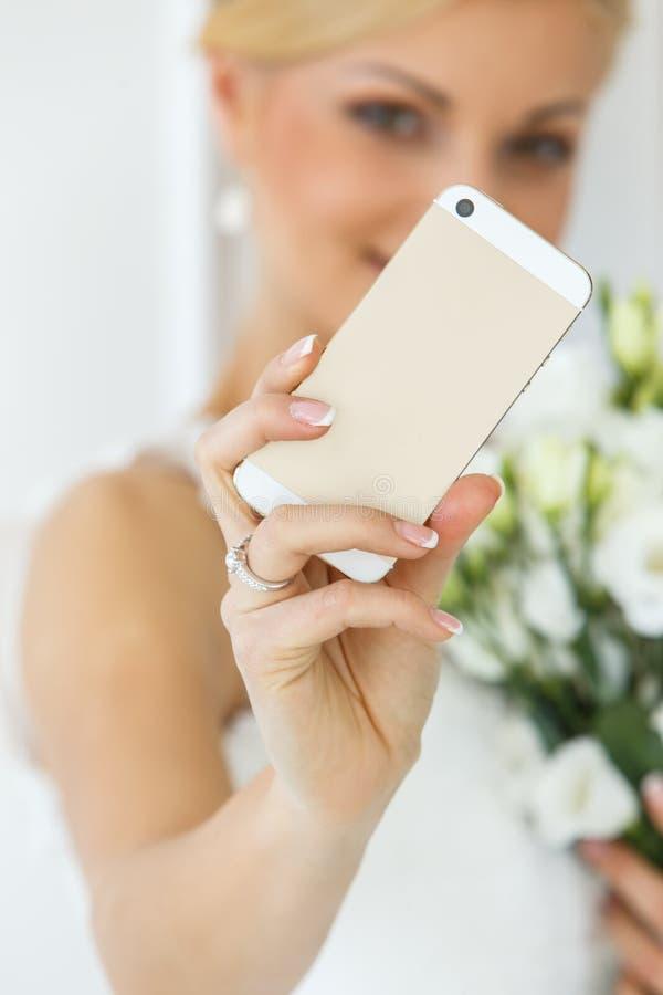 Huwelijk Mooie Bruid royalty-vrije stock foto